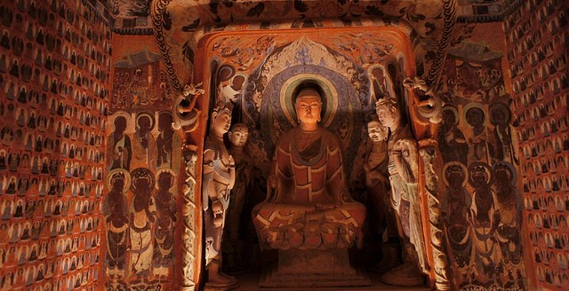Famous Underground Caves -Mogao Caves in China