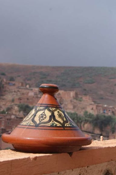Tagine in  the Atlas Mountains of Morocco