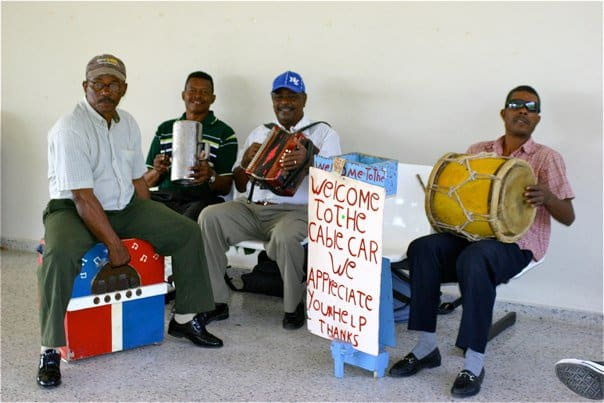 Caribbean Musicians In Dominican Republic