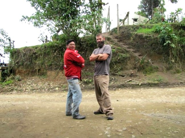 My Host Father and His Delinquent Son in the Ecuadorian Cloud Forest