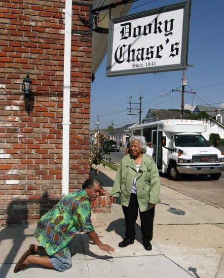 Treme New Orleans: Leah Chase at Dooky Chase's Restaurant