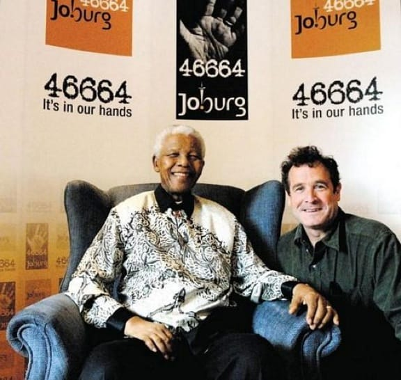 Johnny Clegg and Nelson Mandela