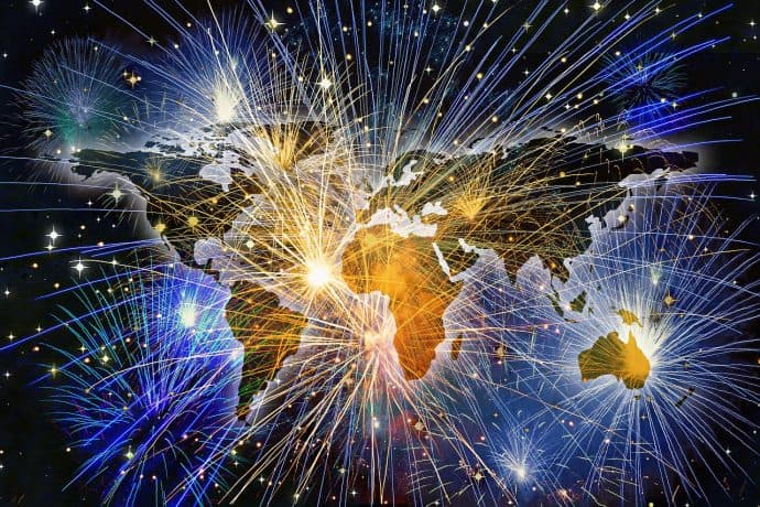 Celebrate New Years Traditions around the world