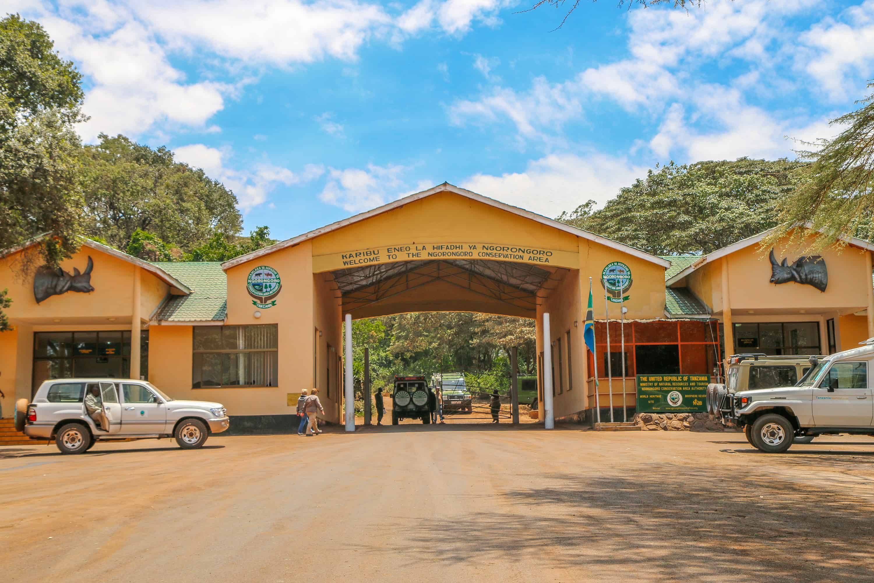 Ngorongoro Conservation Area Entrance