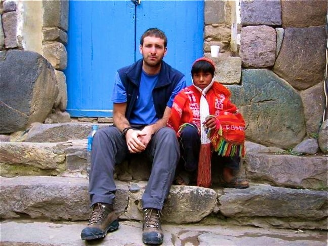 Nick Stanziano in Peru's Sacred Valley