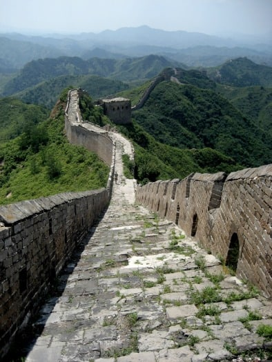 No End in Sight on the Great Wall of China