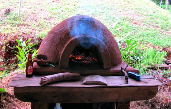 Off Grid Living DIY Stove - Cob Oven
