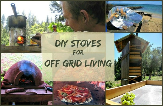 GO GREEN TIP #113: DIY Stoves for Off Grid Living - Green ...