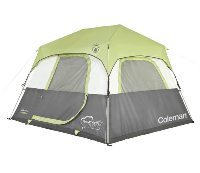 Outdoor Supplies for Fall/Winter 2016 -Coleman Signature-6-person Instant Cabin with Rainfly