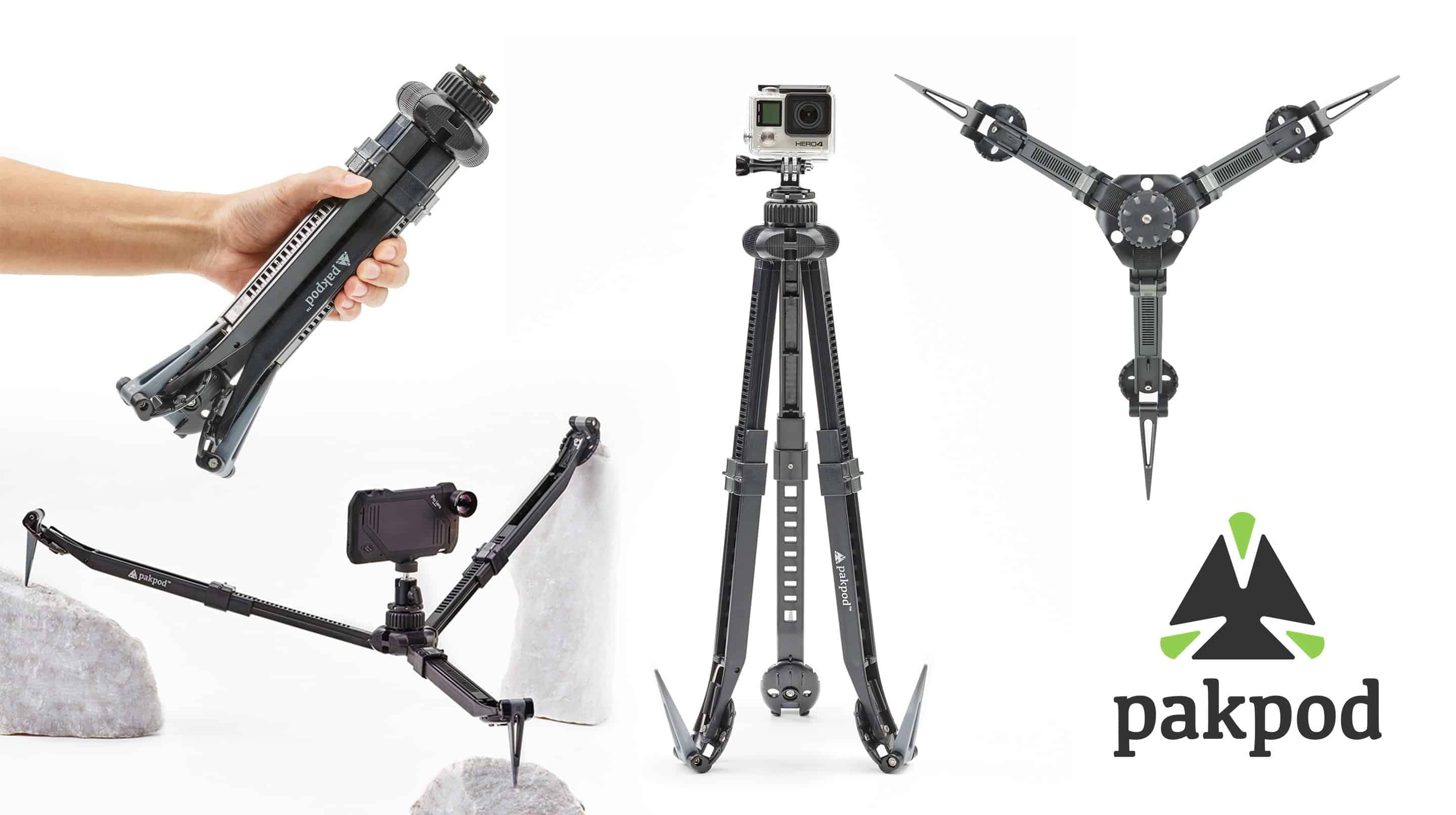 Best Gifts for Travelers - PacPod Tripod