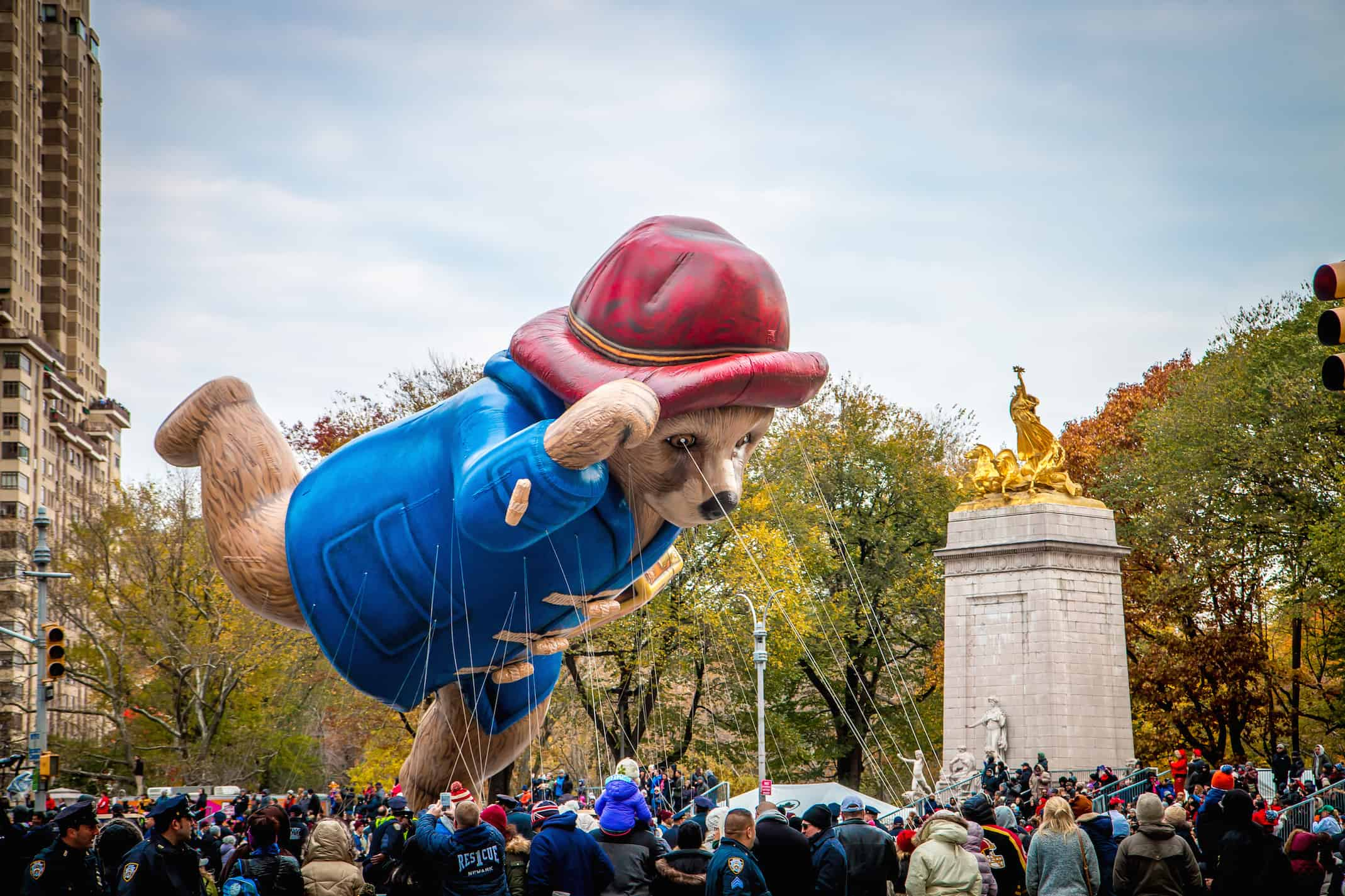 90th macy's thanksgiving day parade- Paddington Bear