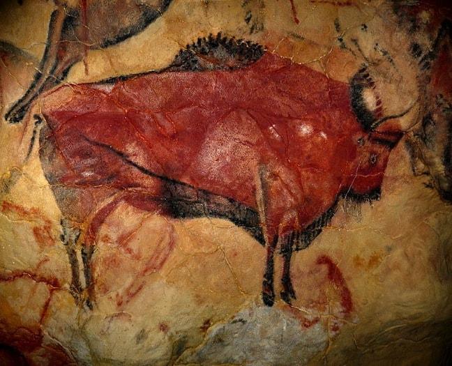 Cave Painting in Altamira, Spain