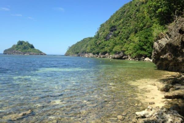 Philippine Island of Danjugan - Crystal Clear water