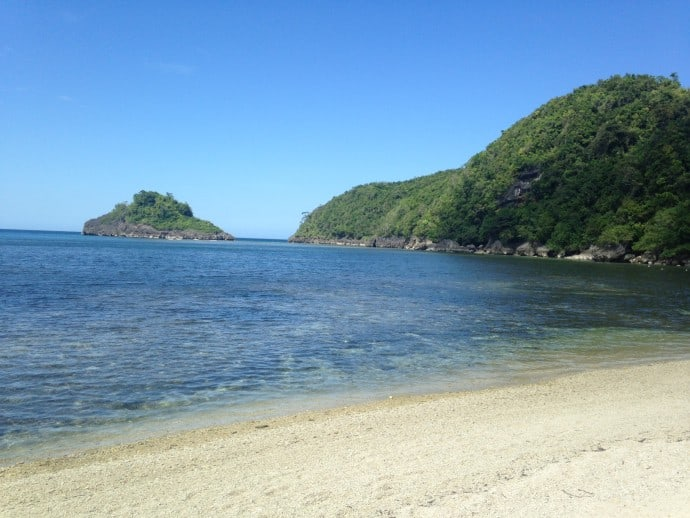 Philippine Island of Danjugan - one of the many pristine beaches