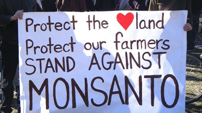 GMO OMG documentary, Monsanto protest