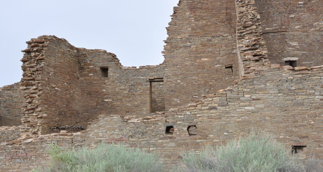 Pueblo Bonito at Chaco Culture Center, New Mexico