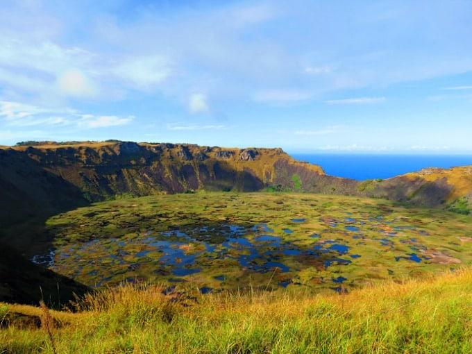 Rapa Nui National Park Easter Island- landscape