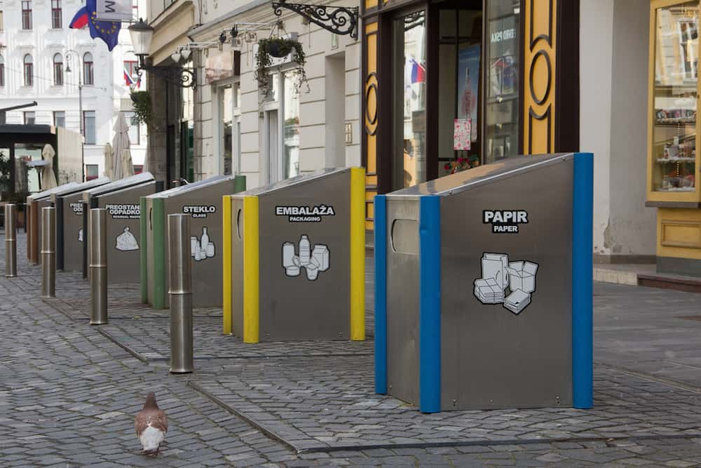 Recycling Units in the City Center