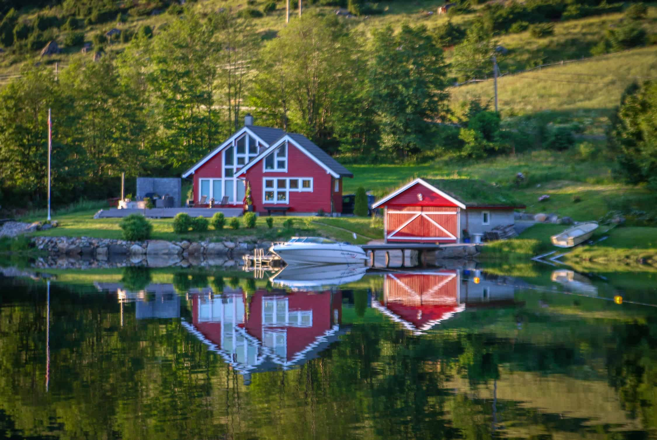 Fjords of Norway: Road to Gulen