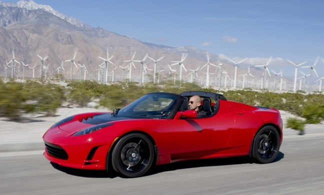 2014 Electric Vehicles, Tesla Roadster