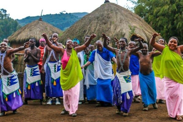 Banyarwanda Performers at the Gorilla Guardians Village in Rwanda