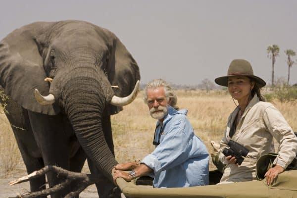 Dereck and Beverly Joubert on Wildlife Conservation