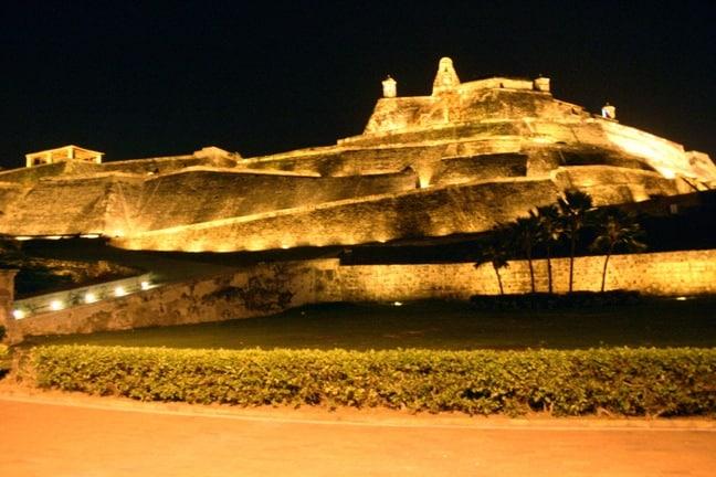 Castilla San Felipe de Barajas en Cartagena, Colombia