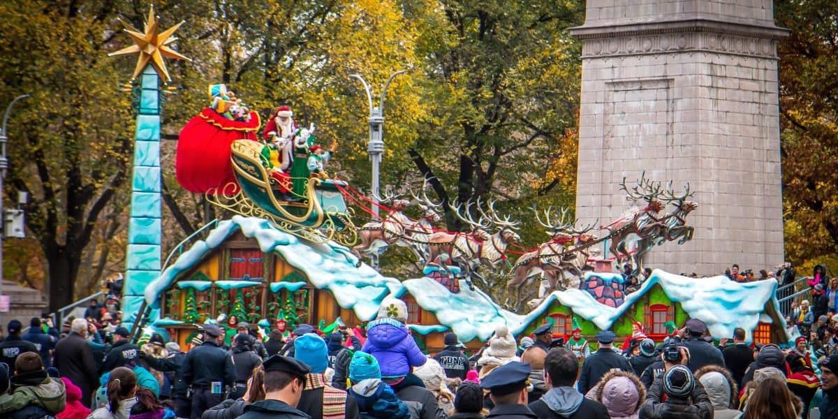 90th macy's thanksgiving day parade- Santa Claus
