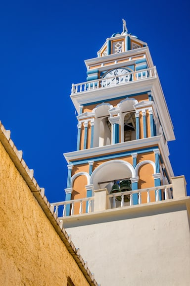 The Iconic Fira, Santorini Clocktower