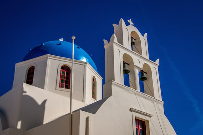 The Church in Oia That Leads to Santorini's Most Picturesque Spot
