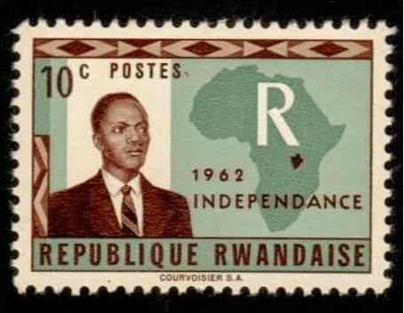 Grégoire Kayibanda Stamp