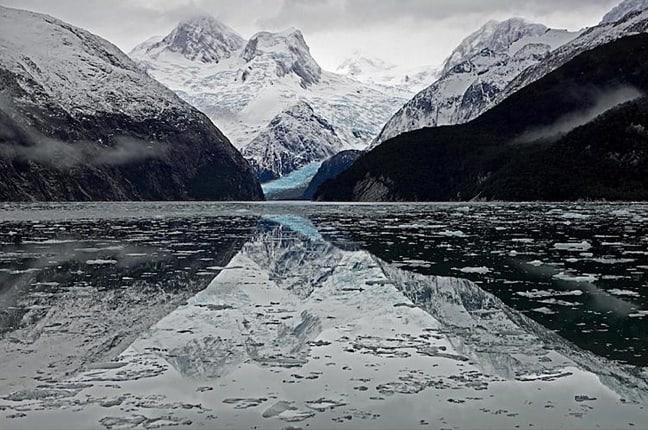 Seno Pia, Tierra del Fuego, Chile
