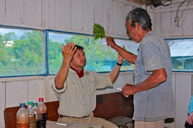 Shaman's Blessing Ceremony in the Peruvian Amazon with International Expeditions