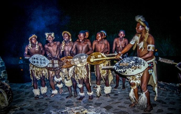 Zulu Cultural Performance at Simunye Zulu Lodge