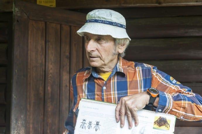 Joze, a Slovenian eco beekeeper