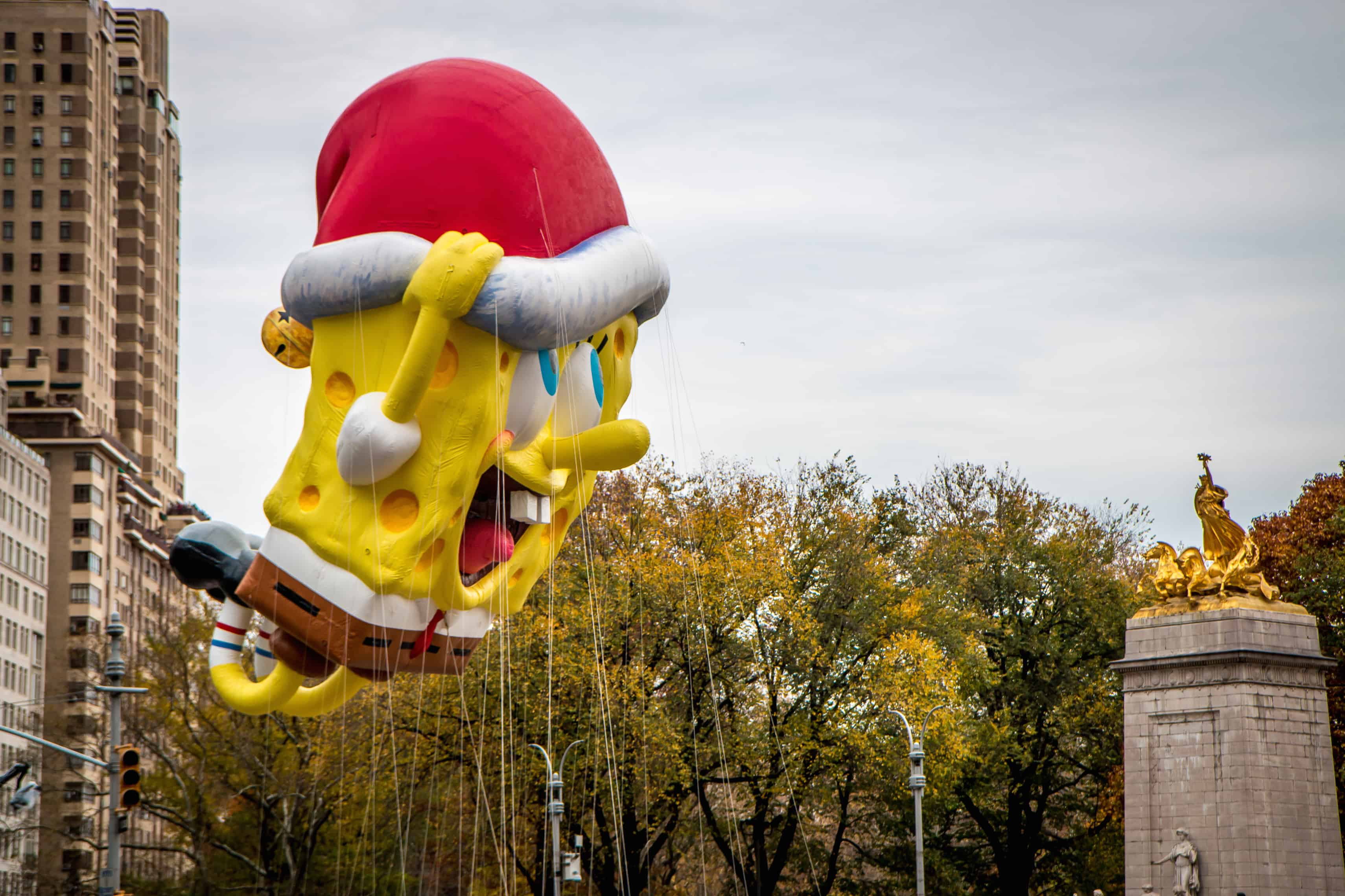 90th macy's thanksgiving day parade- Spongebob
