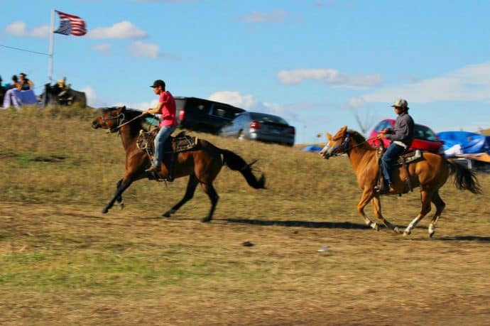 Standing Rock Sioux Tribe Horse Riding