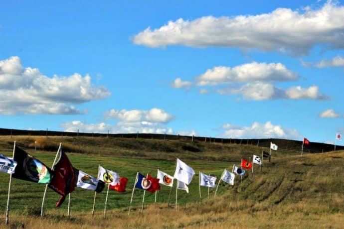 Standing Rock Sioux Tribes Sacred Stone