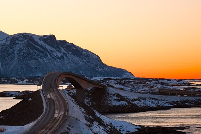 Storseisundet Bridge on Norway's Atlantic Road