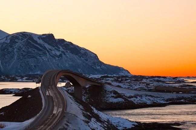 Storseisundet Bridge on Norway's Atlantic Road