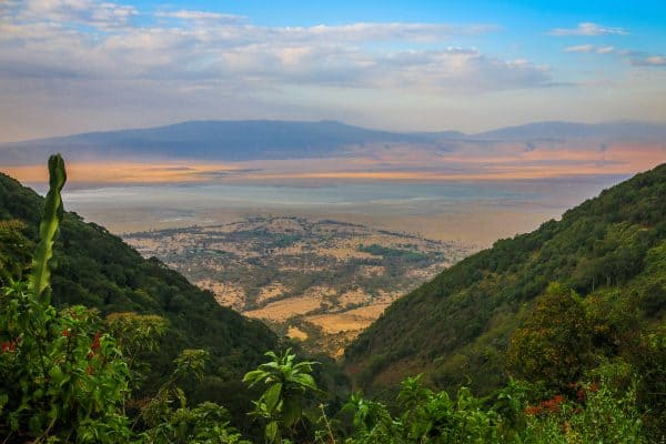 PIC OF THE WEEK: Sunset On The Ngorongoro Crater, Tanzania