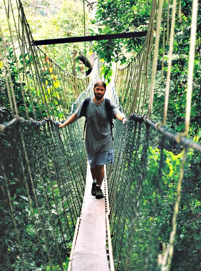 Taman Negara -Skywalking in the jungle