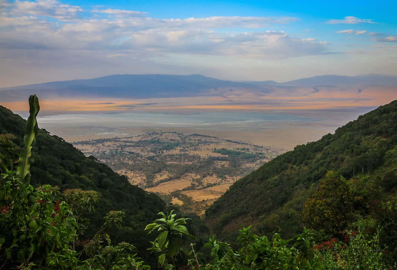 Sunset on Ngorongoro Crater, Tanzania
