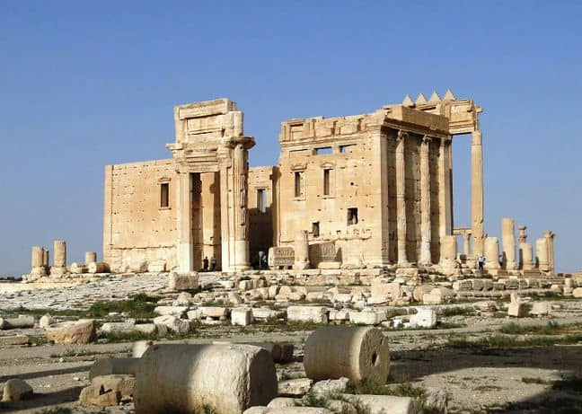 Temple of Bel Syria