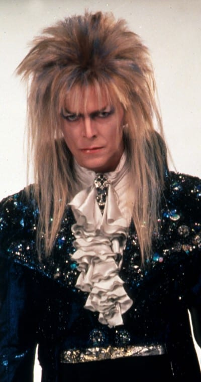 The Creative Life of David Bowie. Bowie as Jareth in Labyrinth