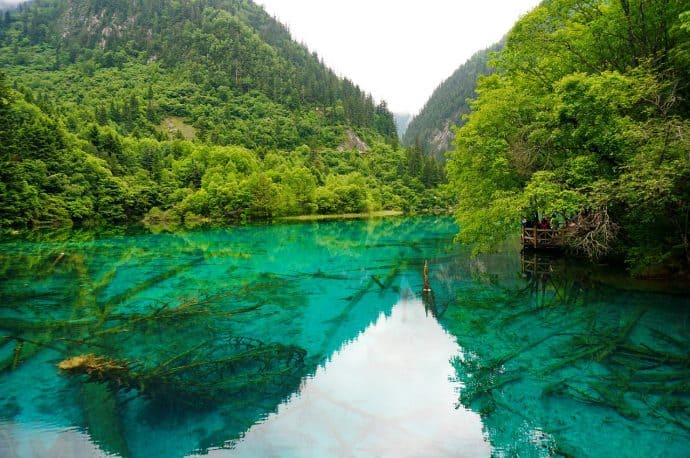 Things to do in China for Nature Lovers-Jiuzhaigou Llake