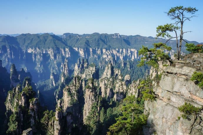 Things to do in China for Nature Lovers- Zhangjiajie National Forest Park