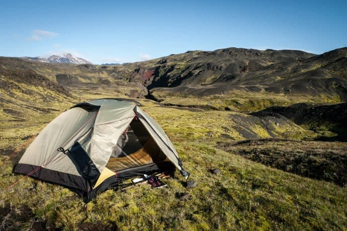 Things to do in Iceland - Consider Camping