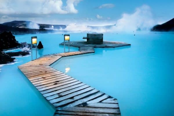 Things to do in Iceland - Soak in a Geothermal Lagoon