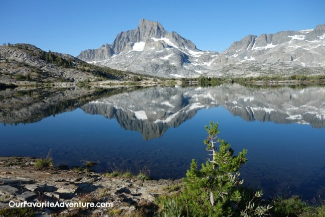 Best Hiking Trails John Muir Trail Thousand Island Lakes